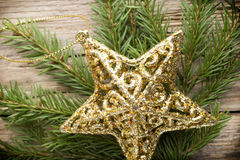 Christmas star. Stock Images