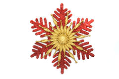 Christmas star snowflake Royalty Free Stock Images