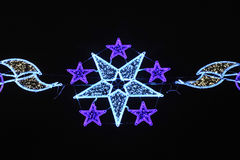 Christmas star, Spain Stock Images
