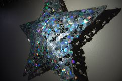 Christmas Star. Sparkles of a Christmas Star Royalty Free Stock Image