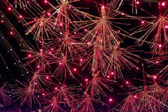 Christmas Star Tinsel 2 Stock Photos