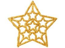 Christmas star on white Stock Image