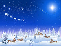 Christmas star Royalty Free Stock Photography
