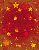 Christmas Star Wrapping Paper Stock Images