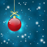 Christmas starry background Royalty Free Stock Photos