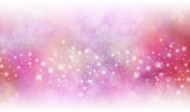 Christmas starry glitter background banner Royalty Free Stock Images