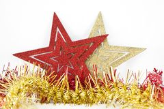Christmas stars Stock Photography