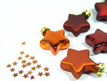 Christmas stars 2 Stock Photography