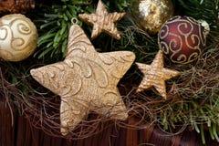 Christmas stars Royalty Free Stock Image
