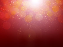 Christmas stars. Illustration of a milky way of stars on a red background Royalty Free Stock Photography