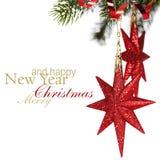 Christmas stars Royalty Free Stock Photo