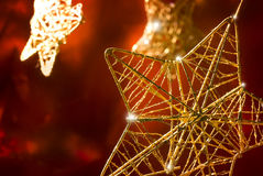 Christmas stars stock photos