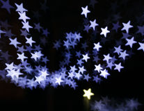 Christmas stars Royalty Free Stock Photo