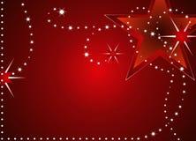 Christmas stars background Royalty Free Stock Image