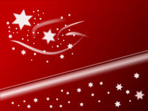 Christmas Stars Background Stock Photos