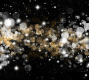 Christmas stars background Royalty Free Stock Photography