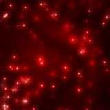 Christmas stars background in red Stock Photos