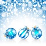 Christmas stars background Stock Photography