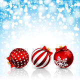 Christmas stars background Royalty Free Stock Photos