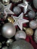 Christmas toys stock photography