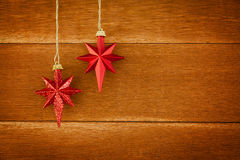 Christmas Stars Royalty Free Stock Photos