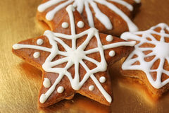 Christmas stars cookies Royalty Free Stock Photography