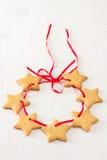 Christmas stars cookies Royalty Free Stock Photos