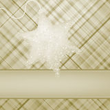 Christmas stars on elegant background. EPS 8. Vector file included Stock Image