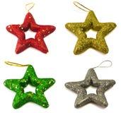 Christmas stars Stock Image