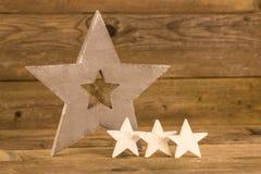 Christmas stars Stock Photography