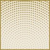 Christmas stars pattern, Center of radiation symmetry Stock Photos
