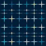 Christmas stars shine seamless pattern Stock Photos