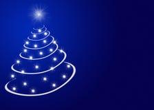 christmas stars tree Στοκ Εικόνες