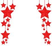 Christmas stars Royalty Free Stock Photos