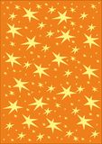 Christmas stars. Christmas winter pattern with stars Royalty Free Stock Photos