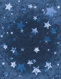 Christmas Stars Wrapping Paper Stock Photos