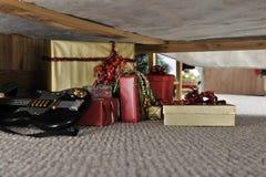 Christmas Stash Stock Photo