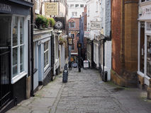 Christmas Steps in Bristol Stock Photography