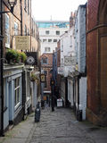 Christmas Steps in Bristol Royalty Free Stock Photos