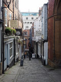 Christmas Steps in Bristol Royalty Free Stock Image
