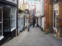 Christmas Steps in Bristol Stock Image