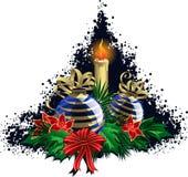 Christmas sticker Royalty Free Stock Image