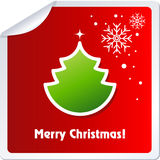 Christmas Stickers Stock Photography