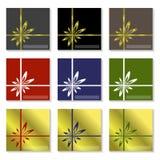 Christmas stickers Stock Image