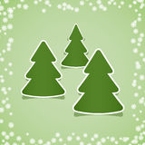 Christmas stickers Stock Images