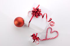 Christmas still with candycane Royalty Free Stock Image