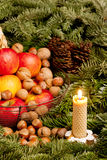 Christmas still life Royalty Free Stock Photography