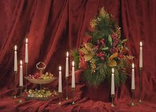 Christmas Still Life. Still life of the Christmas spirit Royalty Free Stock Image
