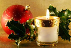 Christmas still-life stock photography