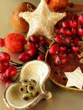 Christmas still-life Stock Photos